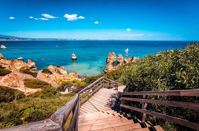 Die Algarve in Portugal