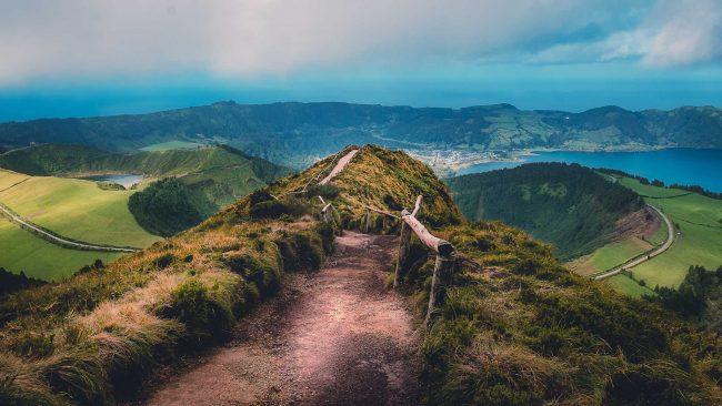 Aussicht über Sete Cidades