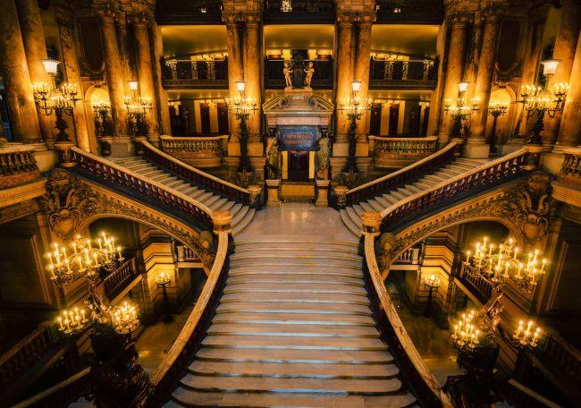 Die Oper Garnier in Paris