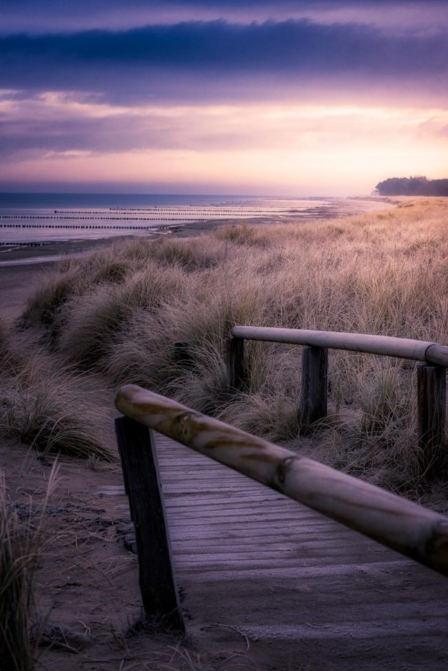 Ein frostiger Weg zur Ostsee