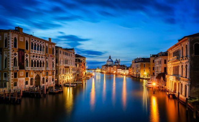 Venedig zur blauen Stunde