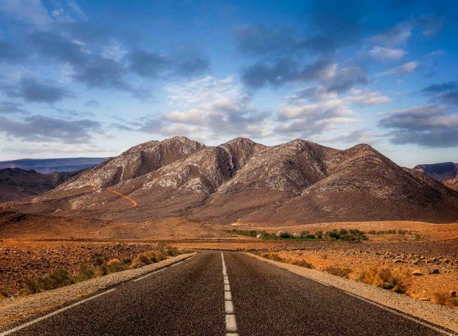 High-Atlas Road Morocco
