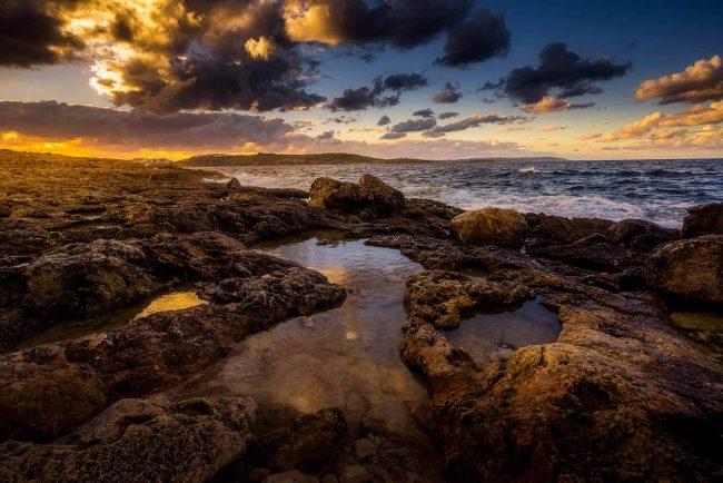 Sonnenuntergang San Pawl il-Baħar